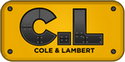 Cole & Lambert Concrete Pump Trucks Logo