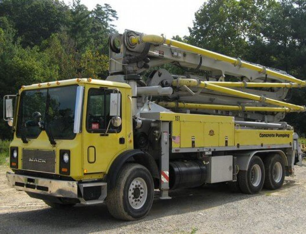 Safe Care and Control of Your Concrete Pump Truck