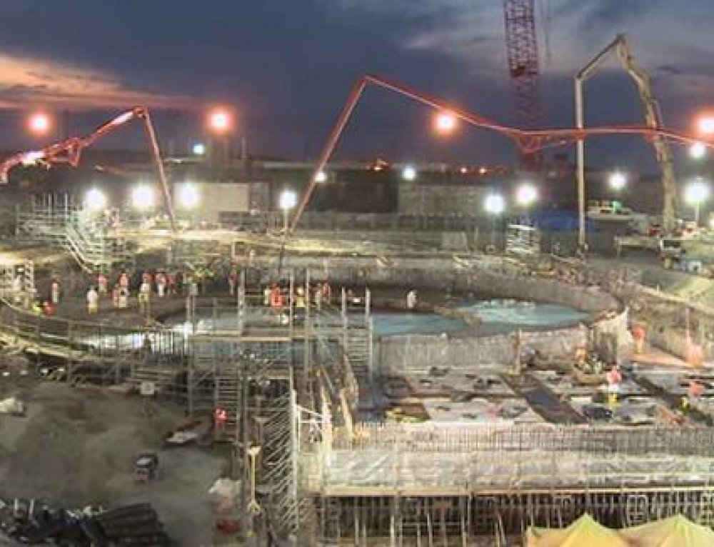 SCE&G Completes First Nuclear Concrete Placement