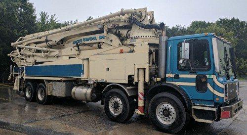 2007-Putzmeister-47M-Boom-Pump