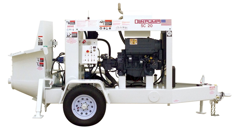 Olinpump-SC25 Shotcrete S-Tube Pump